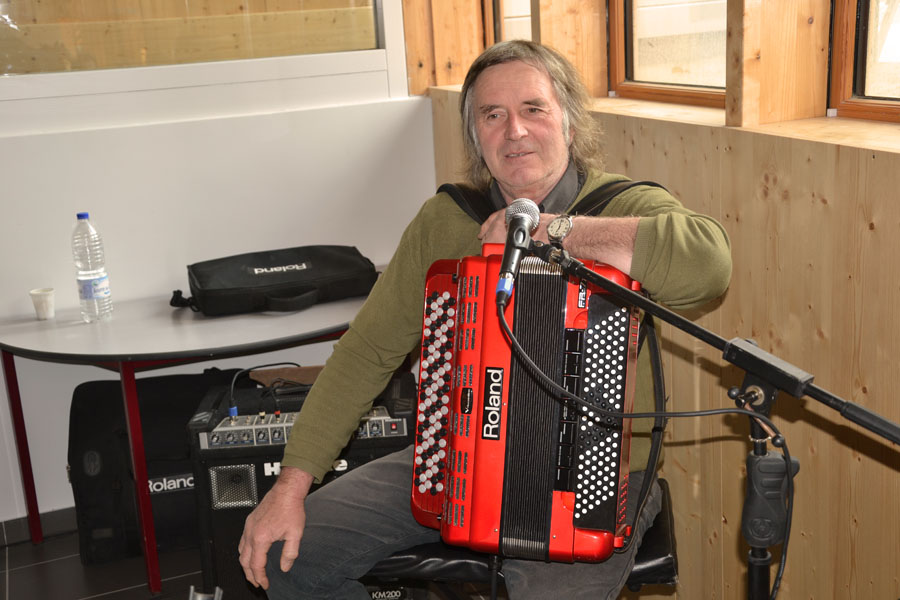 Gérald, l'accordéoniste